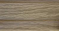 Плинтус и комплектующие с кабель  каналом и мягким краем. BS26 Дуб элегант