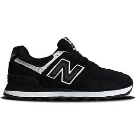 Женские кроссовки New Balance 574 Black White
