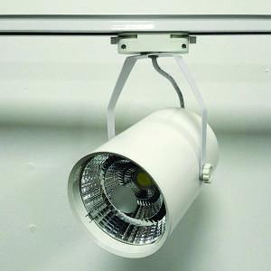 Трековый LED светильник 30W 4000K/6000K белый корпус 3000lm COB LX