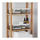 Набор коробок IKEA BROGRUND прозрачный серый белый 3 шт 903.153.12, фото 4