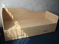 Кровать детская односпальная выдвижные ящики Орхидея 3 матрас 1900*800