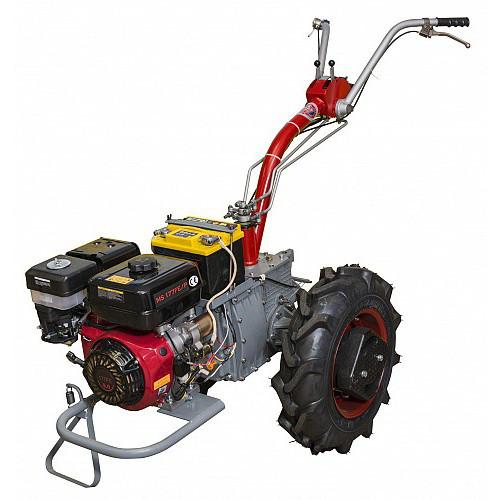 Мотоблок бензиновий Мотор Січ МБ-9Е (9 к. с., електростарт, 4+2 шв., зчіпний пристрій)