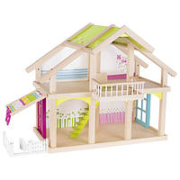 Кукольный домик 2 этажа с внутренним двориком, goki 51588G