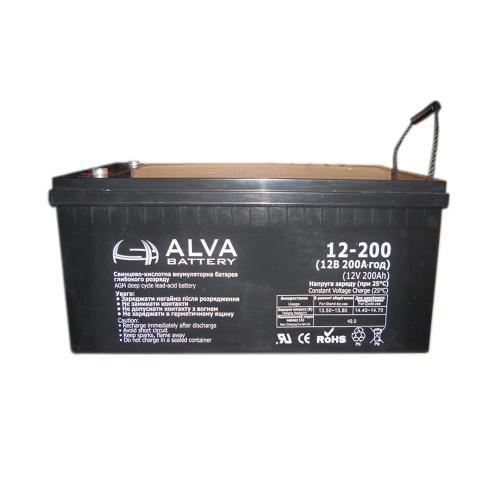АКБ  Alva AW 12 - 200