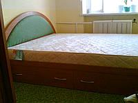 Кровать ДСП двуспальная Орхидея 4 выдвижные ящики матрац 1900*1800
