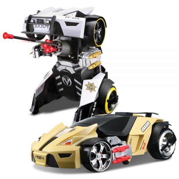 Автомодель - трансформер на р/у Street Troopers PT808 81108 yellow/black