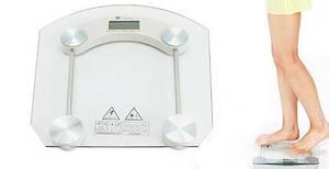 Весы Напольные электронные Квадратные Стеклянные До 180 кг