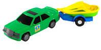 """Детская машина """"Авто-мерс с прицепом"""" 39003 Wader"""