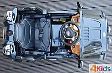 Детский электромобиль Jeep Wrangler + Кожа сидение + 2 мотора по 45 ватт, фото 3