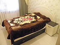 Кровать ДСП двуспальная Орхидея 6 выдвижные ящики матрац 2000*1800
