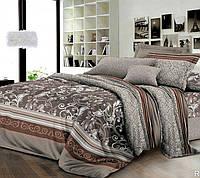 Полуторное постельное белье с простыней на резинке 90/200/25, Модус, ранфорс