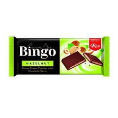 Шоколад BINGO HAZELNUT (Лесн.орех), 90г (1ящ/25шт)
