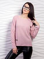 Однотонный свитер тонкой вязки (В.И.К.)