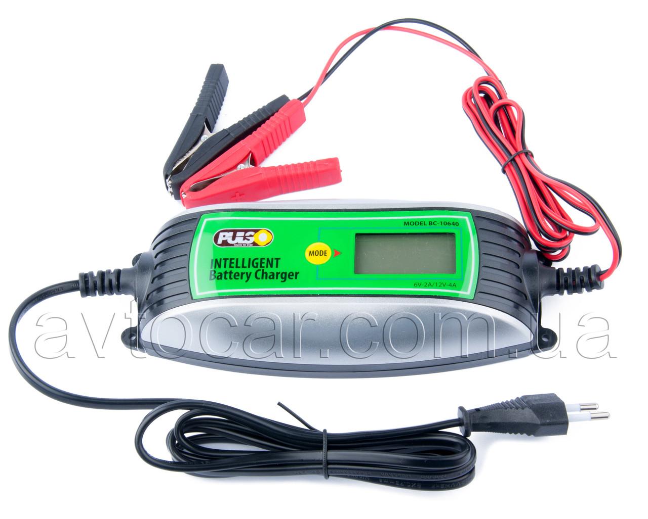 Автоматическое зарядное устройство Pulso BC-10640
