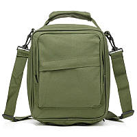 Сумка через плечо MILITARY POST ESDY. Удобная сумка для учебы. Сумка под планшет.