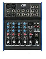 Микшерный пульт Gatt Audio MX-6-FX, фото 1