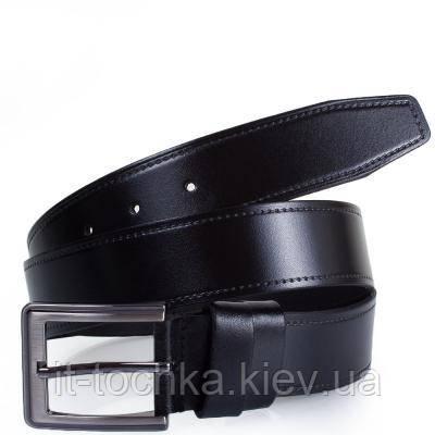 Мужской кожаный ремень y.s.k. shi4-2028-1 черный