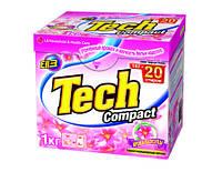 """Стиральный порошок Tech Compact """"Aroma Capsule"""" 1 кг"""