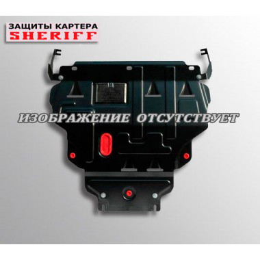 Защита Infiniti FX 30d / FX 37 2009-  V-3.0D/3.7  АКПП, закр. двиг+кпп