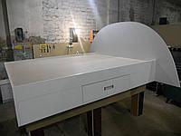 Кровать  двуспальная Орхидея 10 белая матрац 2000*1600