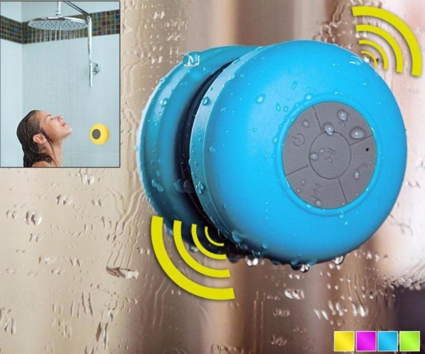 Портативная колонка BTS06 Bluetooth водонепроницаемая с присоской