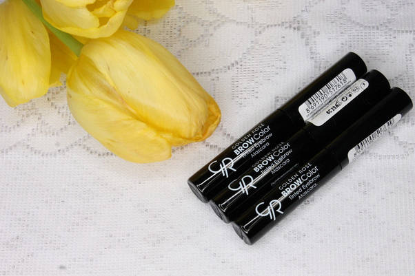 Тушь для бровей Golden Rose Brow Color Tinted Eyebrow, тон № 01, фото 3