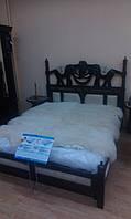 Кровать дерево двуспальная Орхидея 14 матрац 2000*1600