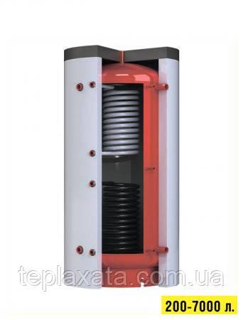 Аккумулирующий бак (теплоаккумулятор для отопления) с нижним теплообменником Kronas (Кронас) 1500 л