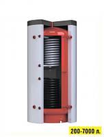 Акумулятори тепла (теплобаки для опалювальних котлів) з нижнім теплообмінником Kronas (Кронас) 1000 л