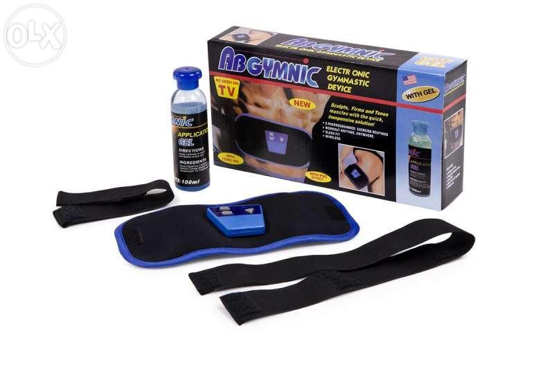 Пояс для пресса и похудения Ab Gymnic АБ жимник тренажер мышц