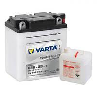 6N6-3B-1 VARTA FUN Мото аккумулятор 6 А/ч, 30 А, 6 В, (-/+), 100х57х110 мм