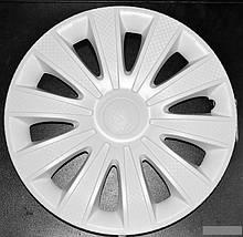 Колпаки КАРАТ ГАЗЕЛЬ карбон белые R 16