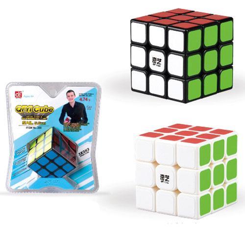 Кубик 309  6-6-6см, на подставке, в слюде, 15,5-18,5-8см