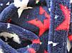 Прекрасный Набор Eirena Nadine халатик с сапожками  (523-34) рост 134 тёмно синий, фото 5