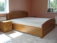Кровать Дерево Ольха двуспальная Орхидея 18 матрац 2000*1600