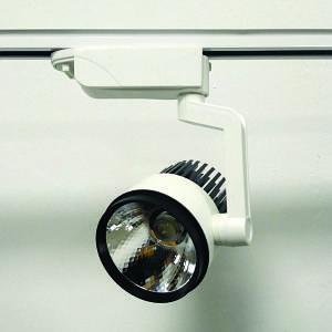 Трековый LED светильник 30W 4000K/6000K белый корпус 2460lm COB LS