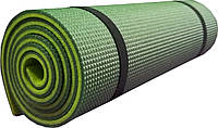 Коврик Polifoam туристический двуслойный 10мм зеленый