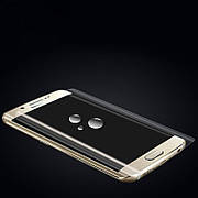 Защитная 3D пленка на Samsung S6 Edge Front Transprent