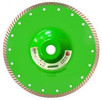 Круг алмазный Distar Turbo Elite Active TE35H 230мм отрезной диск по граниту и базальту для УШМ Дистар Украина