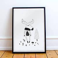 Постер Forest Elk