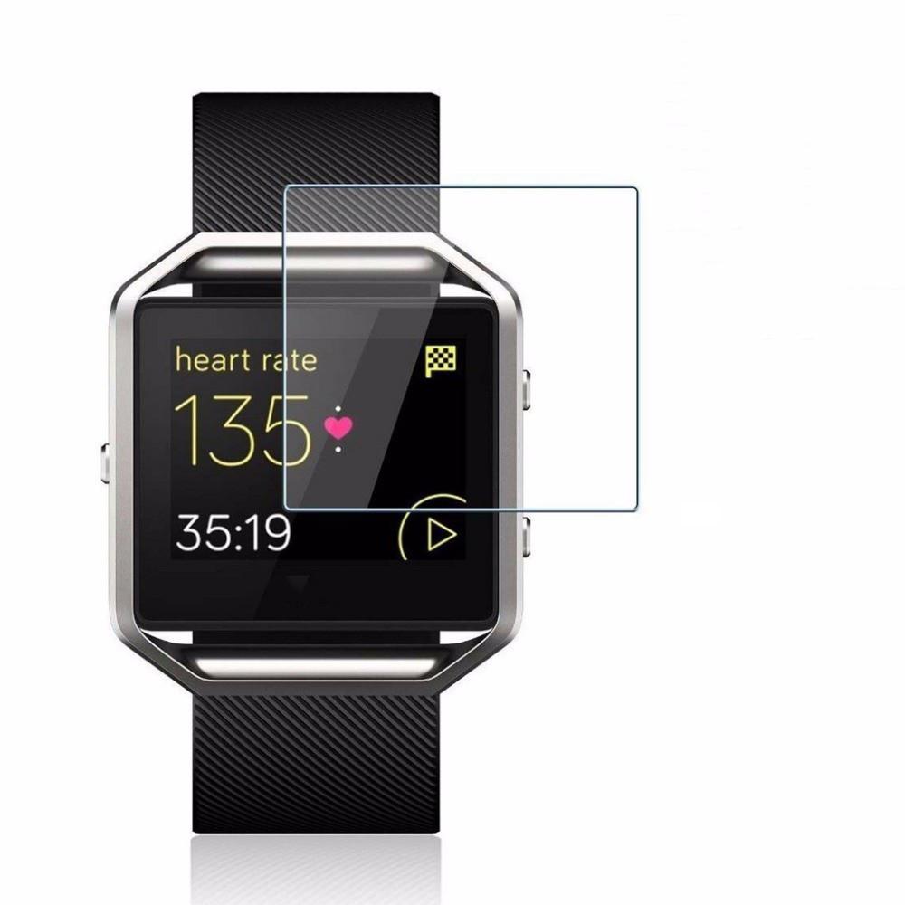 Закаленное защитное стекло для часов Fitbit Blaze