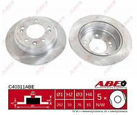 Диск тормозной задний Kia Ceed 2006-->2012 ABE (Польша) C40311ABE