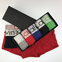 Подарочный Набор Мужских Трусов CK Calvin Klein STEEL - Кельвин Кляин 5 шт Любой Цвет