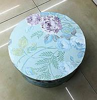 Подарочная коробка (круглая -25x25x11cm, 3шт. в наборе)
