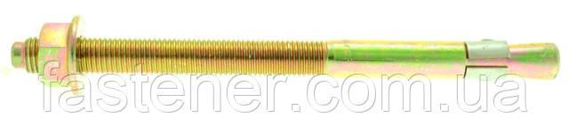 Анкер распорный Golden anchor M16/83/222, FZB, (упак. - 10 шт), Швеция, фото 1