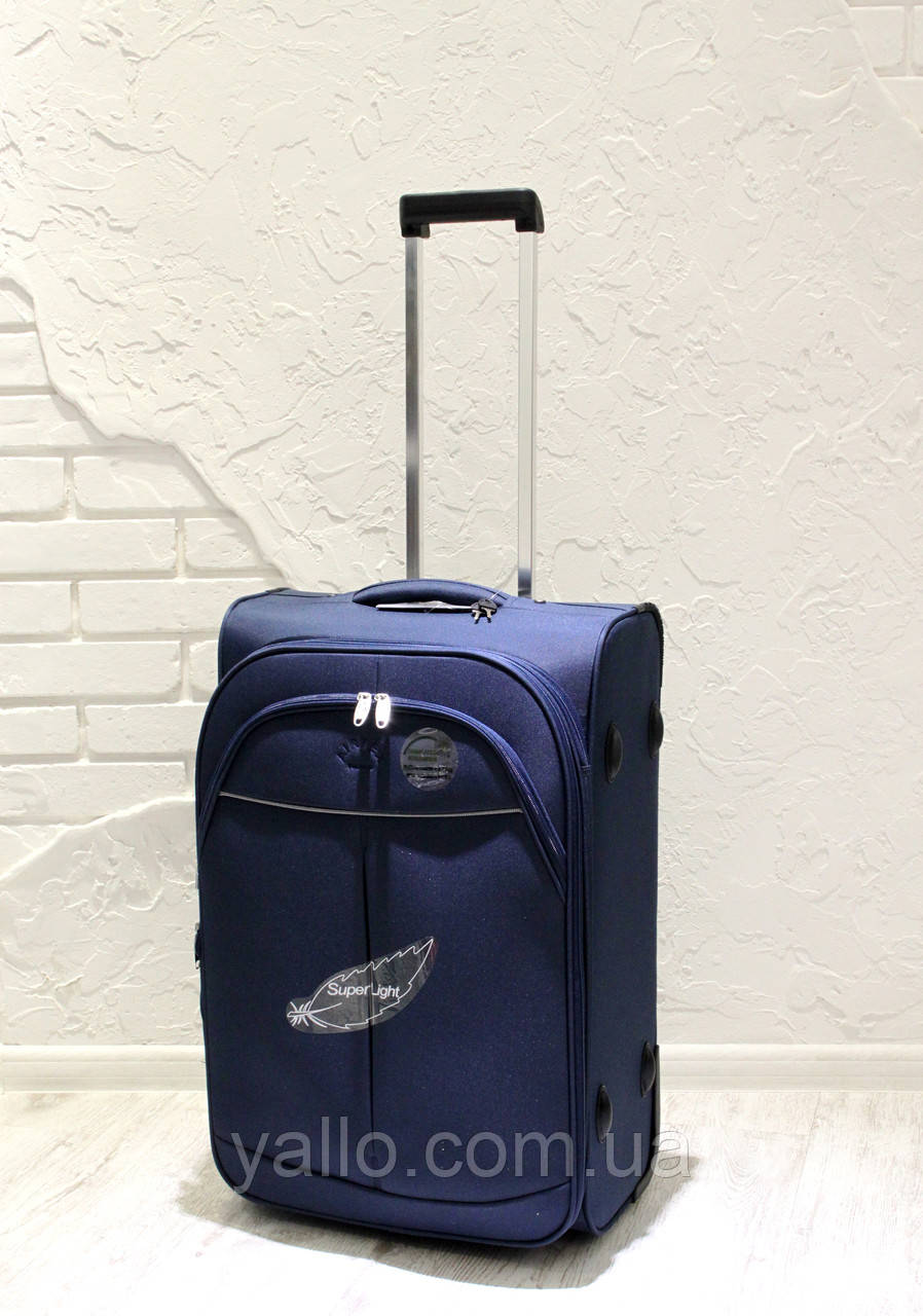 Чемодан Супер легкий AIRTEX PARIS средний REF 2897 Blue