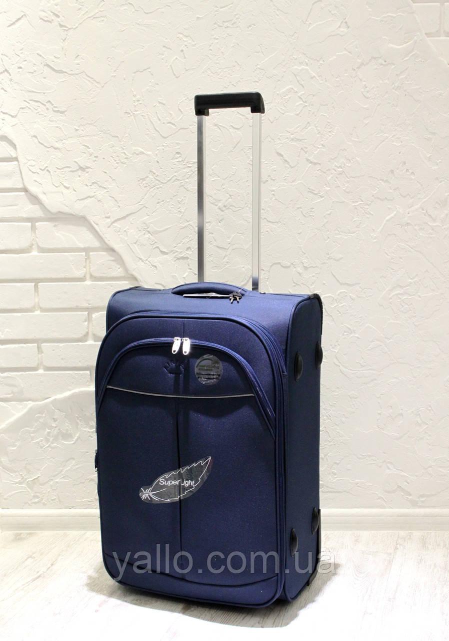 dc4c47ad5943 Супер легкий чемодан AIRTEX PARIS средний REF 2897 Blue - Интернет-Магазин