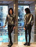 Куртка-бомбер SOGO бронза