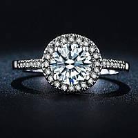 Кольцо покрытие серебро ювелирная бижутерия 719