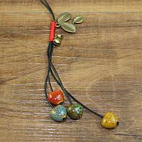 Подвеска кулон из керамики ювелирная бижутерия 3136